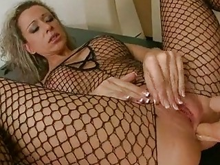 awesome chick angie girl delicioucly fills her