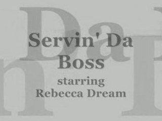 serving da boss
