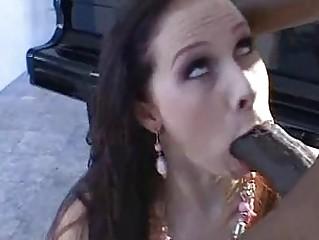 naughty brunette gianna michaels fills her oral