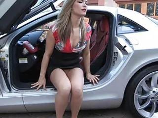 carolyn beautiful fresh blond in short skirt