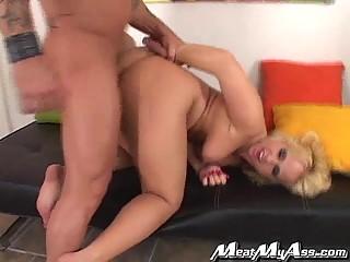 big penis bangs lovely albino bottom