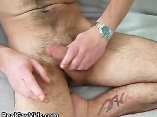 Real dudes jerking their real gay dicks part4