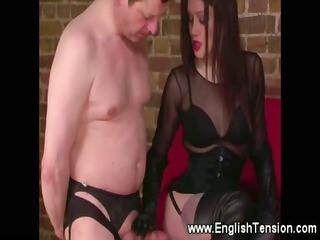 domina humiliates sup in ladies bikini