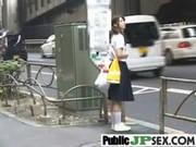 Japanese Girls Gets Banged Outdoor movie-28