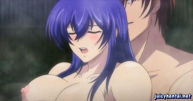 anime girl drinking cumshots