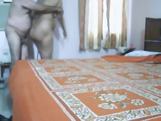 cougar indian duo making like into bedroom