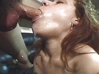 bleached inexperienced chick with large tits