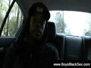 Blacks Thugs Breaking Down Hard Sissy White Boys