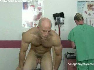 tasty medic jerk off cock
