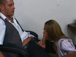 super bureau secretaries giving dick sucking