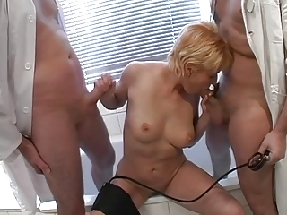german babe bangs the doctors