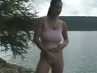 outside nudity going naked at the lake