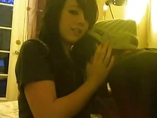 naughty emo amateur copulate for sex tape