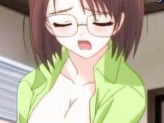 anime dikes sharing a vibrator