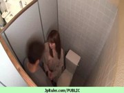 Japanese girl get fucked in public 3