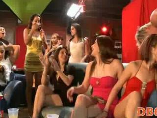 bunch  mad porn patty at nightclub