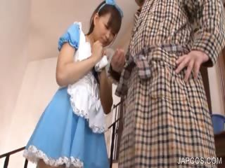 japanese sweety demonstrates undies upskirt