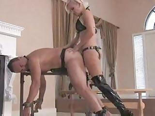 mistress sklyer each inch strapon
