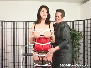 bondage game where brunette horny lady part6