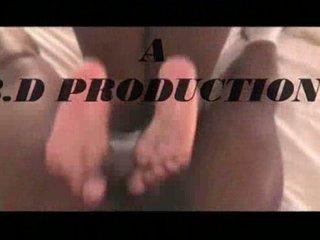 inexperienced feet sperm compilation