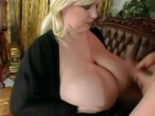 bbw blond with huge breast