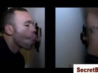 straight man obtaining a secret gay cock sucking