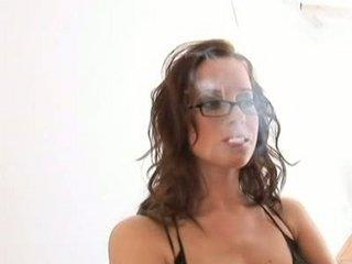 smoking dp girl