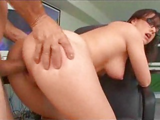 sexytary doing a awesome labor on her boss