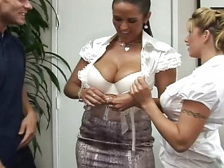 enormously large tits boss beautiful haven