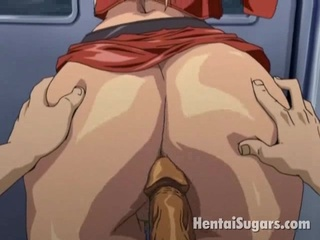 heavenly hentai pale nailed into the arse